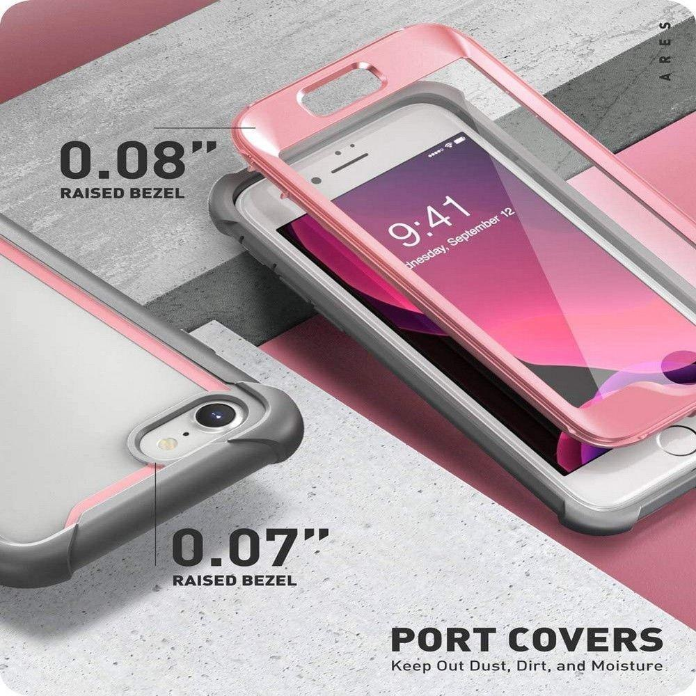 Etui SUPCASE IBLSN ARES do iPhone 7 / 8 / SE 2020 PINK