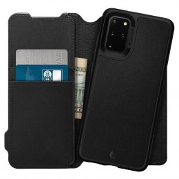 Etui Spigen Ciel Wallet Brick do Samsung Galaxy S20+ Plus czarny