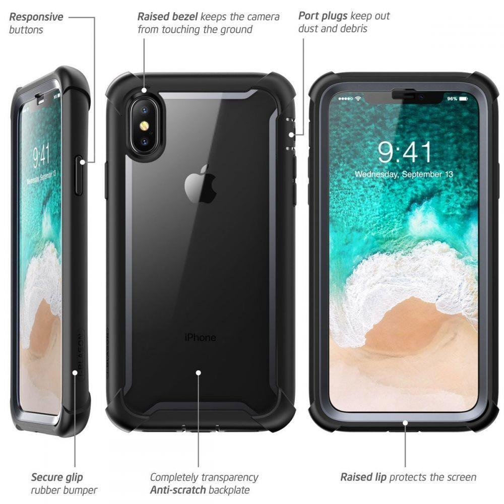 Etui Supcase Iblsn Ares do Iphone X / Xs Black