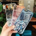 Błyszczące etui Star Glitter z brokatem do iPhone 8 Plus / iPhone 7 Plus różowy