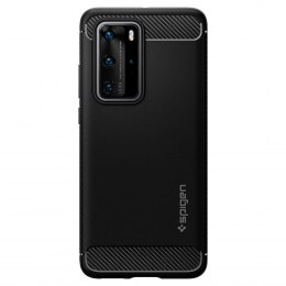 ETUI SPIGEN do HUAWEI P40 PRO RUGGED ARMOR czarny