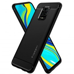 Etui Spigen Rugged Armor do Xiaomi Redmi Note 9S / 9 PRO / 9 PRO MAX czarny