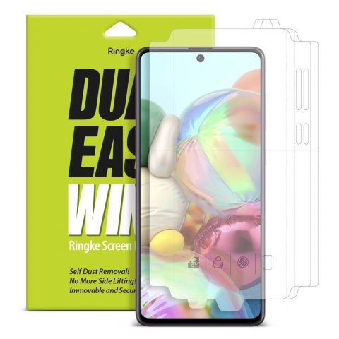 Folia na ekran i boki Ringke Dual Easy Wing 2x do Samsung Galaxy A71