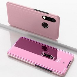 Etui z klapką Clear View Case do Huawei Y7 2019 / Y7 Prime 2019 różowy