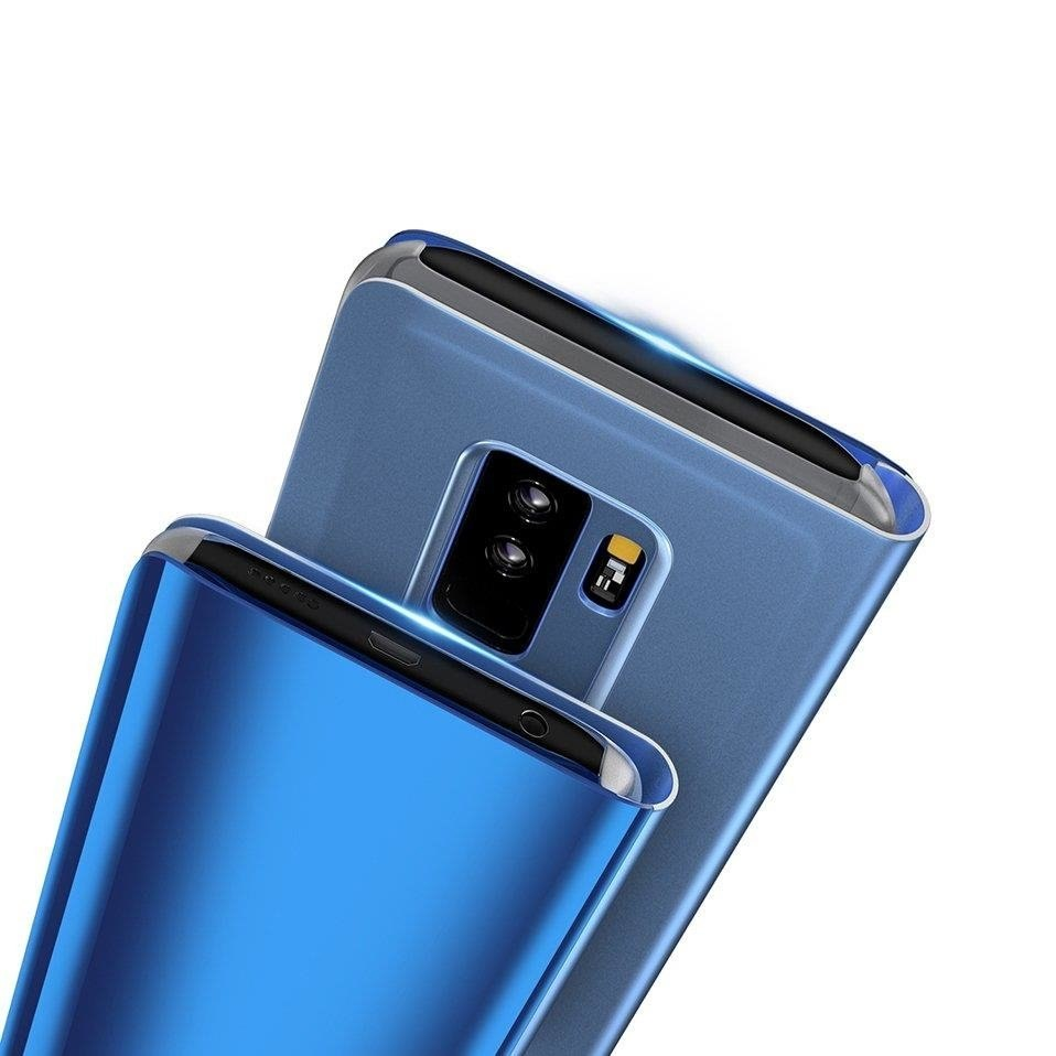Etui z klapką Clear View Case do Samsung Galaxy J4 Plus 2018 czarny