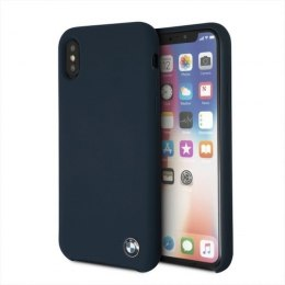 Etui hardcase BMW do iPhone X granatowy/navy