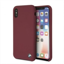 Etui hardcase BMW do iPhone X czerwony/red