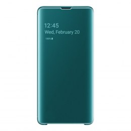 Etui z inteligentną klapką Samsung Clear View Cover do Samsung Galaxy S10 Plus zielony