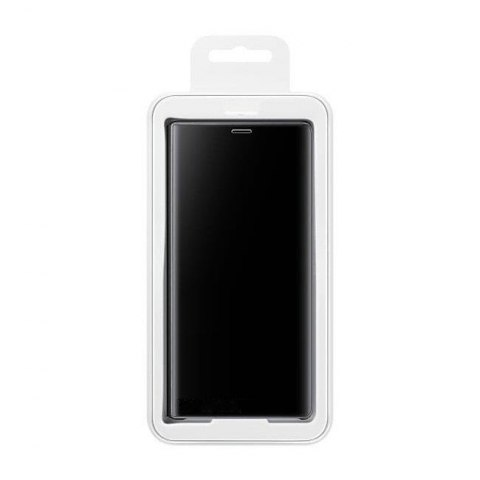 Etui z klapką Clear View Case do Samsung Galaxy S10e czarny