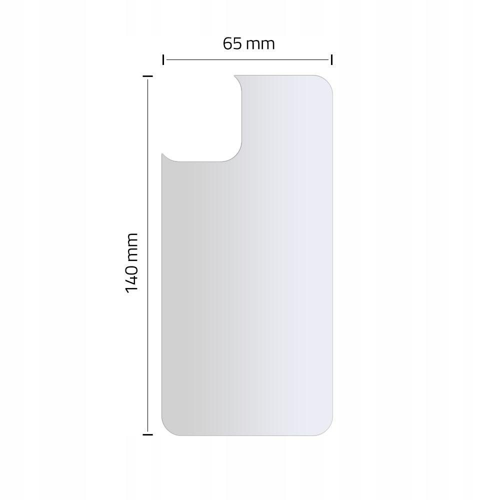Szkło Hartowane Na Tył do iPhone 11 Dedykowany model iPhone 11